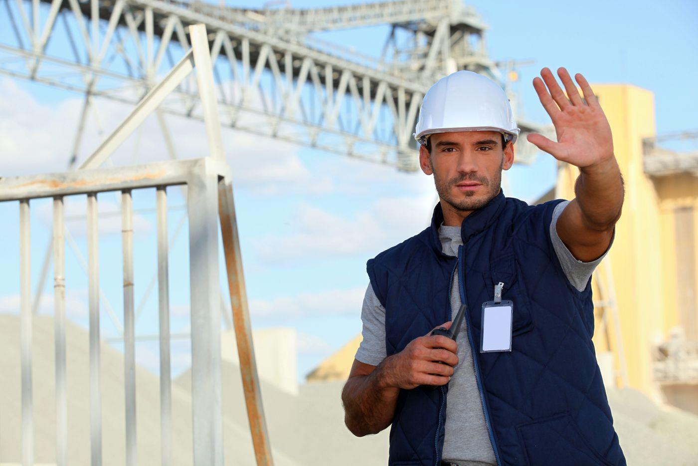 construction site security service