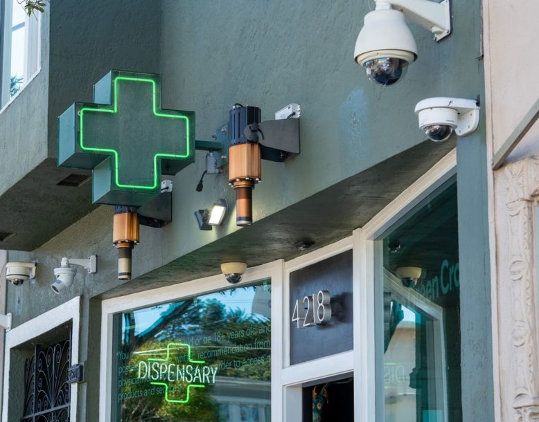 weed cannabis dispensary security guard service