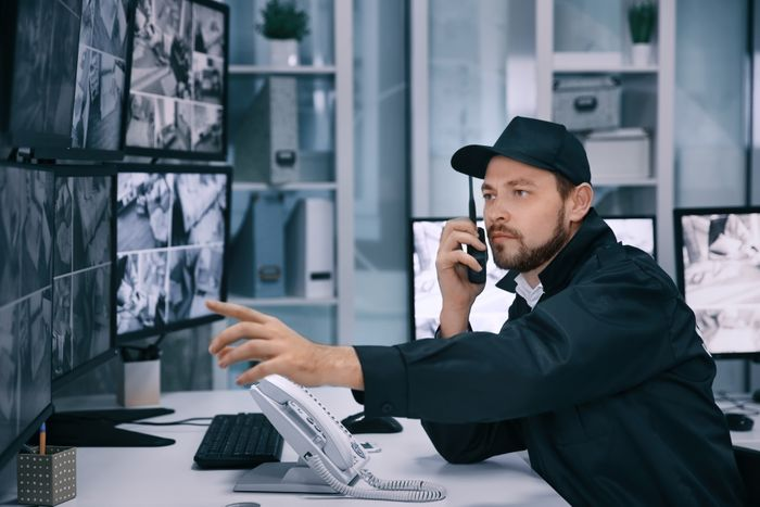 how much for business security guard company