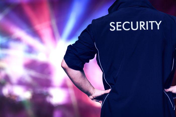night club security guard service